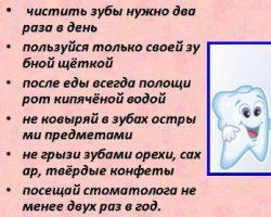 правилами ухода за полостью рта
